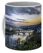 Sunset On The Vltava Coffee Mug