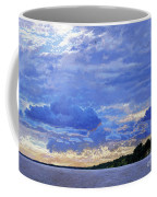 Sunset On The Volga. Gorodets Coffee Mug