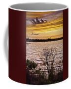 Sunset On The Wetlands Coffee Mug