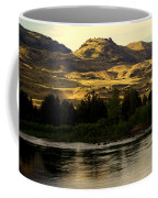 Sunset On The Yellowstone Coffee Mug