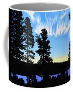 Sunset On Wickiup Coffee Mug