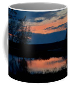 Sunset On Willow Pond Coffee Mug