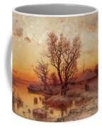 Sunset Over A Ukrainian Hamlet Coffee Mug