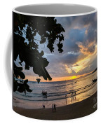 Sunset Over Ao Nang Beach Thailand Coffee Mug