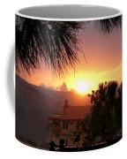 Sunset Over Bcharre, Lebanon Coffee Mug