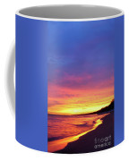 Sunset Over Beach Coffee Mug