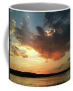 Sunset Over Bridgeport Lake Coffee Mug