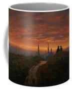 Sunset Over Dresden Coffee Mug