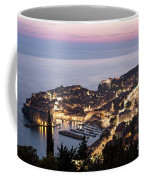 Sunset Over Dubrovnik In Croatia Coffee Mug