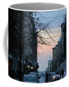 Sunset Over Helsinki Coffee Mug