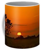 Sunset Over Horicon Marsh Coffee Mug
