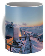 sunset over Igloos - Greenland Coffee Mug