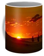 Sunset Over Indiana Dunes Coffee Mug