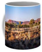 Sun Setting Over Kings Canyon - Northern Territory, Australia Coffee Mug