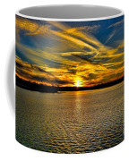 Sunset Over Lake Palestine Coffee Mug