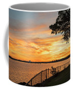 Sunset Over Lynch Park Beverly Ma Water Tower Coffee Mug