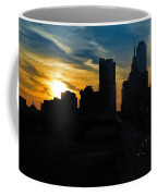 Sunset Over Main Street Coffee Mug