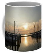 Sunset Over Marina  Coffee Mug