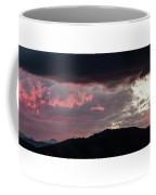 Sunset Over Mount Sanitas Coffee Mug