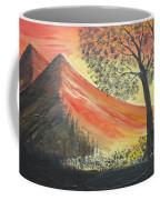 Sunset Over Mountains Coffee Mug