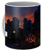 Sunset Over Nashville Coffee Mug