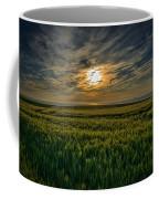 Sunset Over North Pas De Calais In France Coffee Mug