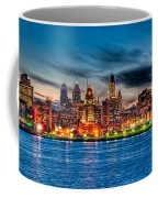 Sunset Over Philadelphia Coffee Mug