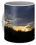 Sunset Over Rural Field Coffee Mug