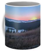 Sunset Over San Juan Islands Coffee Mug