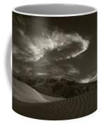 Sunset Over Sand Dunes Death Valley Coffee Mug