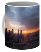 Sunset Over Singapore Coffee Mug