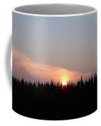 Sunset Over The Cornfield Coffee Mug