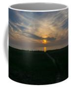 Sunset Over The Dunes  Coffee Mug