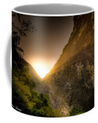 Sunset Over The Gorge Coffee Mug