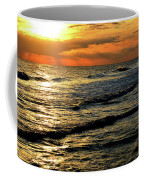 Sunset Over The Gulf Coffee Mug