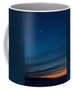 Sunset Over The Gulf Of Bothnia Coffee Mug