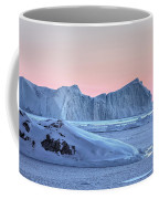 sunset over the Icefjord - Greenland Coffee Mug