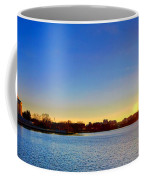 Sunset Over The Jefferson Memorial  Coffee Mug