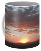 Sunset Over The Mara Coffee Mug