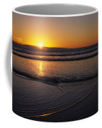Sunset Over The Pacific Ocean Coffee Mug by Stacy Gold