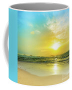 Sunset Over The Sea Coffee Mug