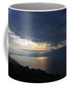 Sunset Over The Sea Of Galilee Coffee Mug