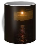 Sunset Over The Thames River Coffee Mug