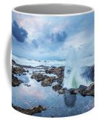 Sunset Over Thor's Well Coffee Mug