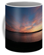 Sunset Over Wachusett Reservoir  Coffee Mug