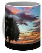 Sunset Palm Florida Coffee Mug