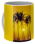Sunset Palms And Family Coffee Mug
