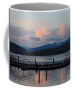 Sunset Reflecting Off Priest Lake Coffee Mug