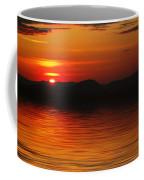 Sunset Reflection On The Lake Coffee Mug
