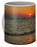 Sunset Ride Cape May Point Nj Coffee Mug